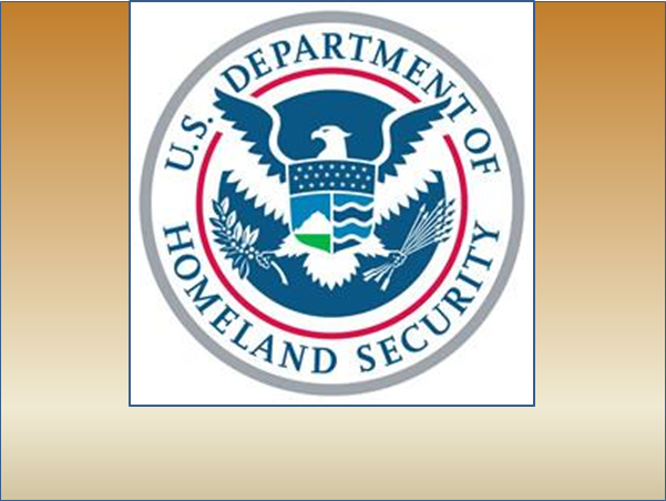 Oct. 28 Homeland Security
